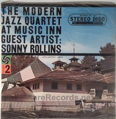 The Modern Jazz Quartet with Sonny Rollins - At Music Inn, Volume 2 (Atlantic; 1959)  A great live outing by the MJQ, featuring Sonny Rollins on sax.  The copy shown is an original sealed stereo 1959 pressing.   #albums #vinyl #records #jazz  Click here to learn more about this record: http://www.rarerecords.net/store/modern-jazz-quartet-at-music-inn-volume-2-sealed-stereo-1959-lp/