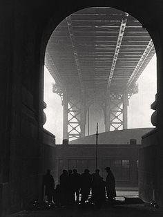 undr:  Robert Disraeli  Cold Day on Cherry Street, 1932
