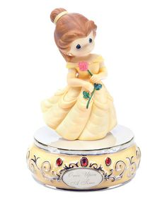 Another great find on #zulily! Belle Girl Musical Figurine by Disney Showcase Collection #zulilyfinds $19.99