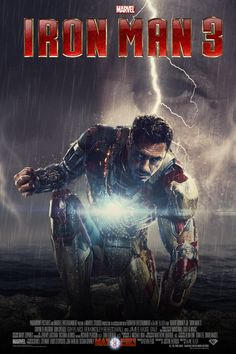 Iron Man 3 (Fan Made) Movie Poster v7