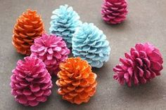 Customize pine cones for different seasons and occasions by painting them. All it takes is a little prep work to make sure you get the best painting results.