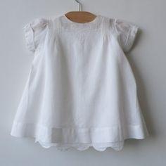 Classic 1935 baby girl dress