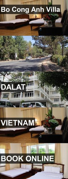 Hotel Bo Cong Anh Villa in Dalat, Vietnam. For more information, photos, reviews and best prices please follow the link. #Vietnam #Dalat #travel #vacation #hotel