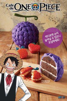 Cafe de One Piece in Korea One Piece Theme, One Piece Ace, One Piece Luffy, One Piece Fanart, One Piece Manga, One Piece Birthdays, One Piece Figuras, Anime Cake, One Piece Wallpaper Iphone