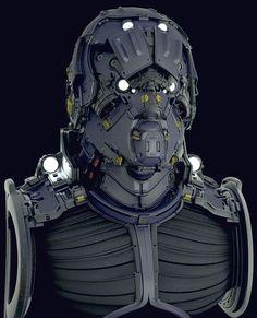 Mike Nash - Hard Surface Bust W.I.P:
