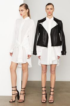 DKNY Pre-Fall 2014 Collection Slideshow on Style.com