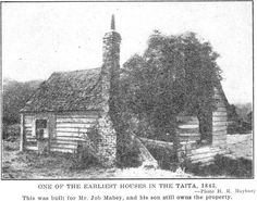 One of the Earliest Houses in the Taita, 1843. - Lower Hutt Past and Present (1941) - Hutt City Libraries Online Heritage Collection