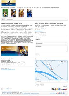 Birreria San Gottardo SA, Birreria, Faido, Ticino, Produzione Birra, Commercio Birra, Distribuzione Birra, Bibite analcoliche