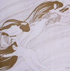 Gustav Klimt, Sangue di pesce