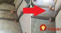 Najjednoduchší spôsob, ako vyčistiť poťahy v aute, špinavý gauč aj škvrny na matracoch: Nestojí ani 50 centov! Chevrolet Logo, Good To Know, Techno, Diy And Crafts, Techno Music