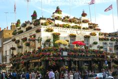 One of my favorite pubs. Kensington, London. Will be drinking a pint or two there on my way to Portobello Market. (photo by my friend Dan who's already there.)