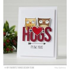 My Favorite Things Die-Namics, I'm Owl Yours -