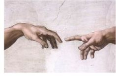 """Creation of Adam (Michelangelo)   """"Paint the Greats"""" Lesson"""