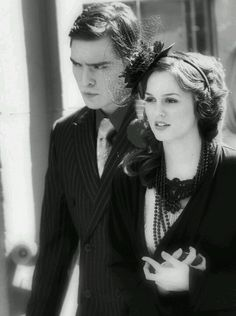 Ed Westwick and Leighton Meester - GG