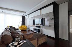 Дизайн интерьера квартиры в Москве от Geometrix Design