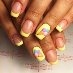 All of these nail designs and styles happen to be as simple as they are charming. For anyone who is frequently in search of good ideas and new designs, nail art designs are a great way to display your personality and to be original. Nail Art Designs, Bright Nail Designs, Bright Nail Art, Bright Summer Nails, Spring Nails, Nails Design, Gel Nails At Home, Diy Nails, Cute Nails