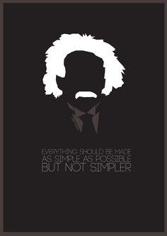 Einstein quote design 2014 Neli Seumanutafa
