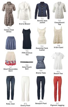 A Fresh Look at 15 items for 30 Days of Spring Fashion! - CAbi Spring 2014 Collection