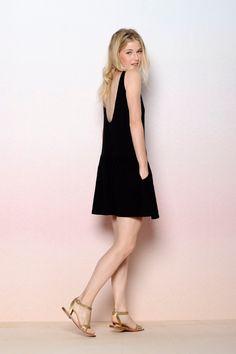 robe Hastuce noir - Robes et jupes - categories - e-shop