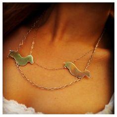 Daschund necklace