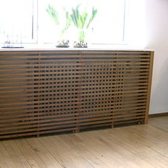 Radiator cover by The Oak Men