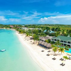 At Sandals Negril, you're closer to the water's edge than anywhere else in Negril. | Sandals Resorts | Jamaica