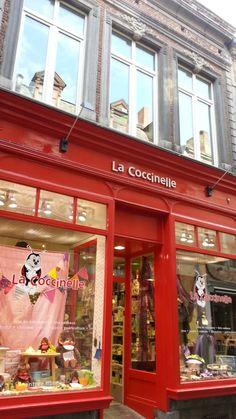 Store La Coccinelle @ Namur, Belgium