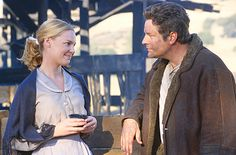 Love Comes Softly - Marty & Clark Davis.  One of my favorite scenes...why do bad things happen to good people?