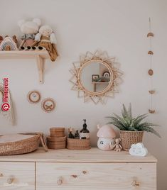 What& better for your kids room decor? We have some ideas for you! Boho Nursery, Nursery Neutral, Nursery Room, Girl Nursery, Girl Room, Nursery Decor, Natural Nursery, Neutral Bedding, Baby Bedroom