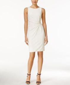 Calvin Klein Sequined Sleeveless Sheath Dress | macys.com