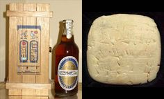 Babylonian clay tablets from 4300 BC show detailed beer recipes and beer was also brewed by the ancient Chinese, Assyrians, Incas and in ancient Egypt. In 1996, Scottish and Newcastle breweries in the UK used a 3,200-year old recipe found in the sun temple of Queen Nefertiti to brew a thousand bottles of Tutankhamun Ale