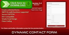 [ThemeForest]Free nulled download Easy Contact Form from http://zippyfile.download/f.php?id=42319 Tags: ecommerce, contact dynamic, contact form, custom fields, customizable contact, customizable forms, dynamic form, easy contact form, edit fields, personalise form