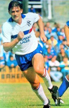 Kevin Drinkell. Rangers Football, Rangers Fc, British Football, Retro Football, Glasgow, Running, Sports, Bears, Club