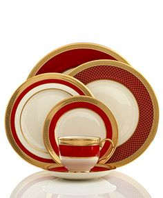 Lenox Dinnerware, Embassy Collection