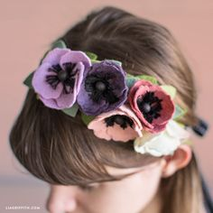 Channel your inner flower child with our simple-to-craft felt flower crown project! Craft along with our helpful video tutorial for felt flower paradise...