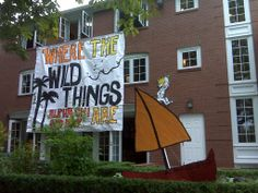 Banners / Posters | Alpha Chi Omega | AXO Where the wild things are #greek #sorority #recruitment