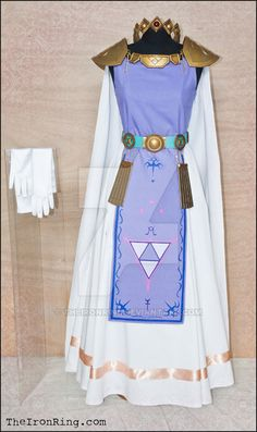 """Complete outfit for Princess Hilda with accessories (long white gloves are included, have a look a this picture).Princess Hilda is a character from """"The Legend of Zelda: A Link Between Worlds"""". All..."""
