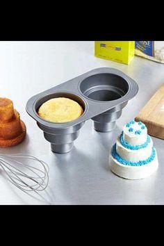 Mini cake molds