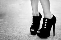 Black Open Toe Stiletto Platform Ankle Boots With Silver Buttons Ankle Boots, Shoe Boots, Shoes Heels, Bootie Heels, Louboutin Shoes, Ankle Heels, Heeled Sandals, Crazy Shoes, Me Too Shoes