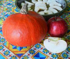 #patternpatisserie: Rustic Pumpkin and Apple Upside Down Cake recipe #PatriciaSheaDesigns