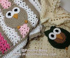 Crochet Owl Afghan pattern by Michele Gaylor