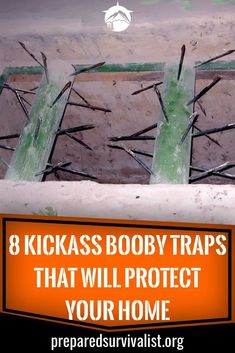 8 Kickass Booby Traps That Will Protect Your Home - Prepared Survivalist - Burglars are on every corner waiting for an opportunity to rob you from your valuables. Urban Survival, Homestead Survival, Survival Food, Wilderness Survival, Camping Survival, Outdoor Survival, Survival Knife, Survival Prepping, Emergency Preparedness