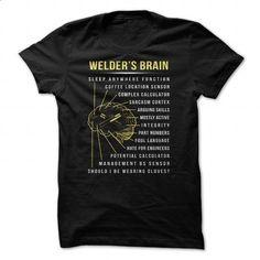 Welder - #womens #make your own t shirts. CHECK PRICE => https://www.sunfrog.com/Jobs/Welder-93372195-Guys.html?60505