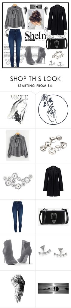 """""""Shein.."""" by vellfe ❤ liked on Polyvore featuring Vero Moda, River Island and Venus"""