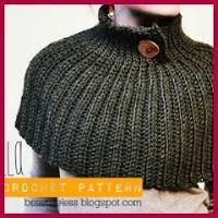 Pequeña capa crochet