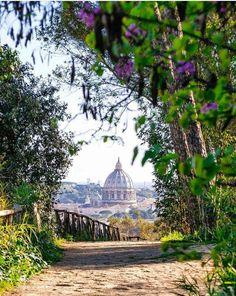 Monte Mario (fundo Basílica de São Pedro - Vaticano), Roma, Itália