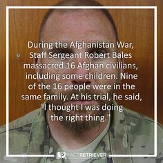 United States soldier Robert Bales avoided the death penalty after a military judge accepted his guilty plea #afghanwar #warcrimes #facts