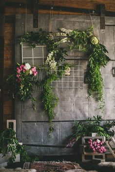 Industrial woodland wedding inspiration  | Photo by megan from studio castillero | Read more - http://www.100layercake.com/blog/?p=68922
