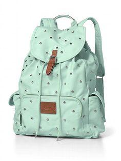 PINK Backpack con tachuelas #VictoriasSecret http://espanol.victoriassecret.com/sale/pink/studded-backpack-pink?ProductID=121885=OLS?cm_mmc=pinterest-_-product-_-x-_-x