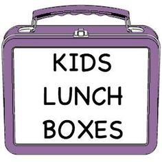 Healthy Kids Lunch Boxes